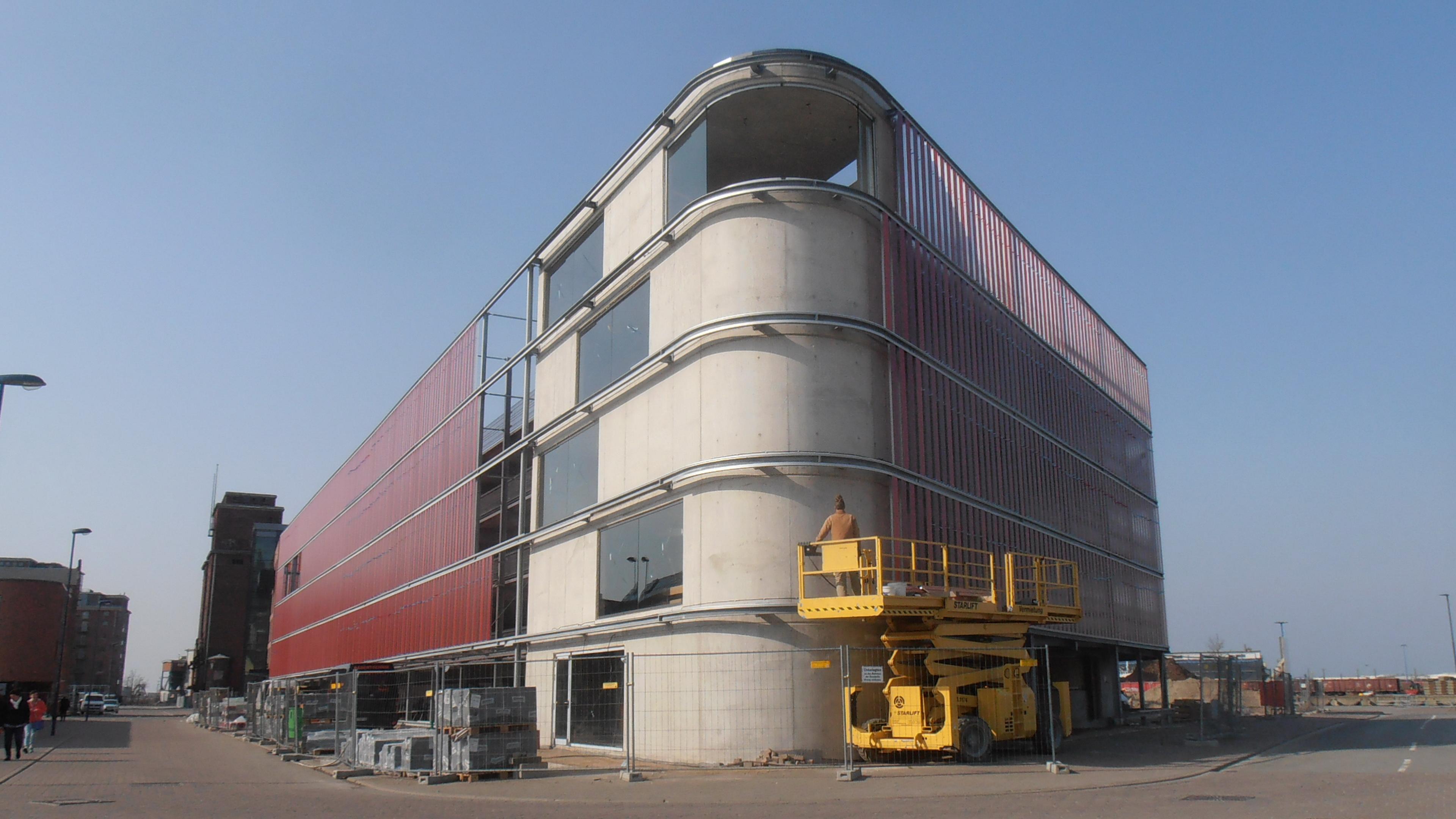 """Neubau Parkhaus """"Am Alten Hafen"""", Stockholmer Straße, Wismar ..."""